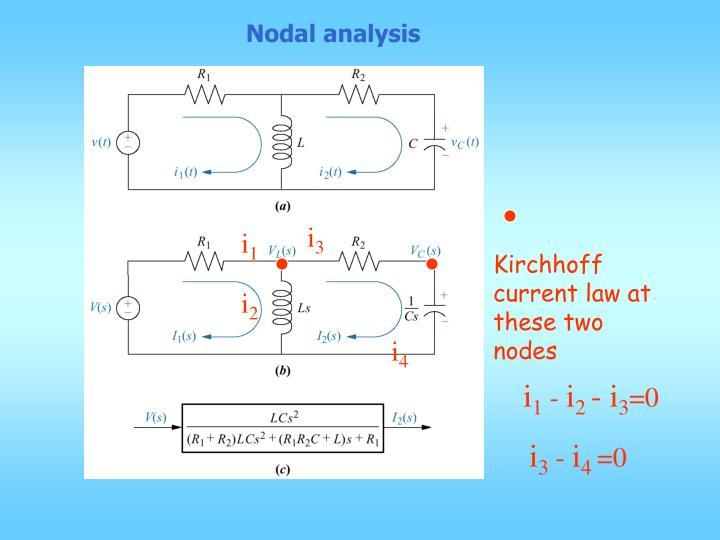 Nodal analysis