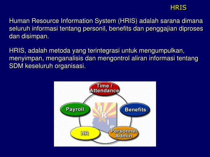 human resource information systems used Keywords- hris, hrm, hrms, human resource, human resource information system i introduction in the ever-changing world in which we live, new technology is continually being developed.