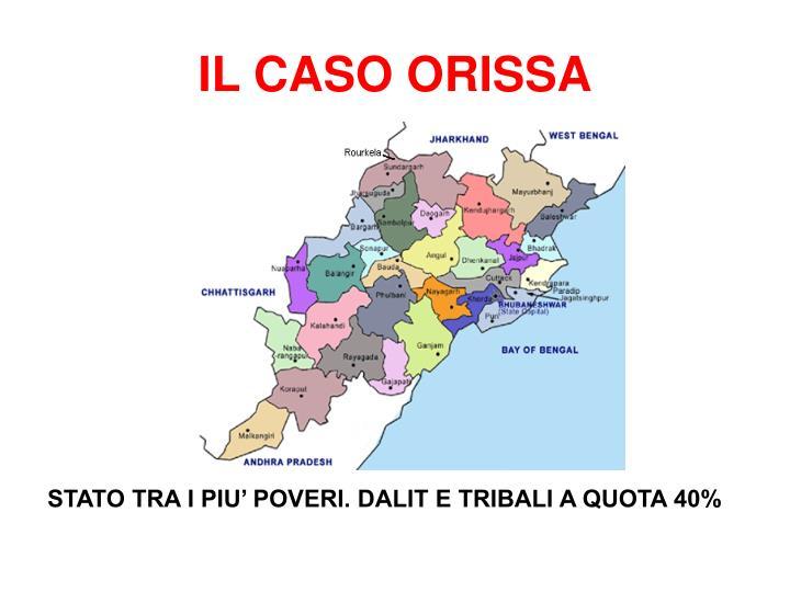 IL CASO ORISSA