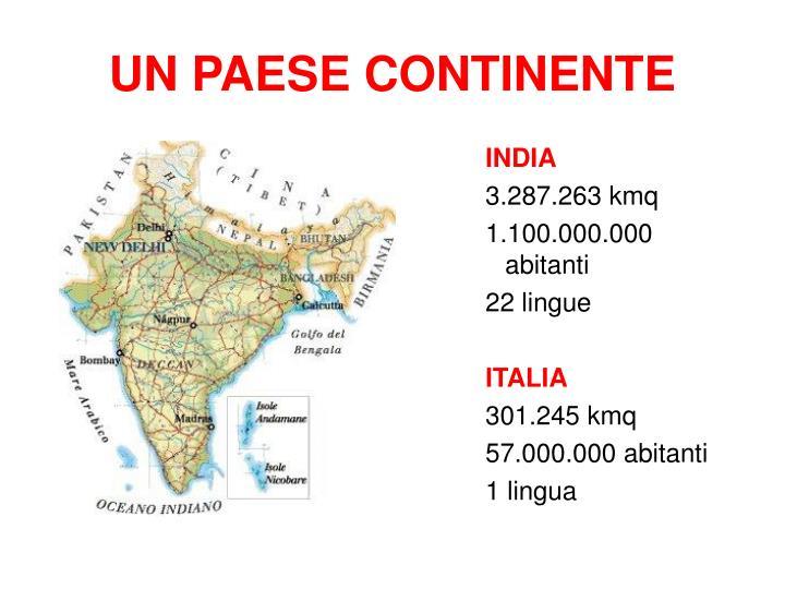 Un paese continente