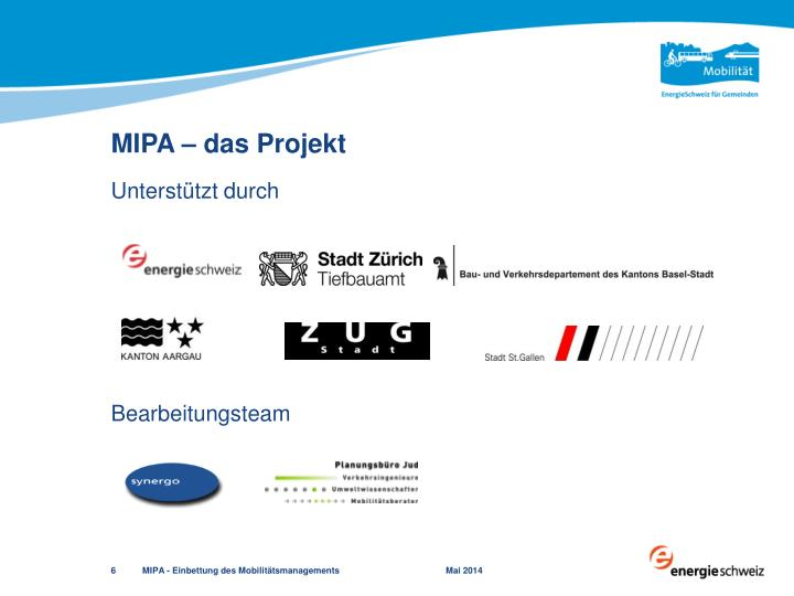 MIPA – das Projekt