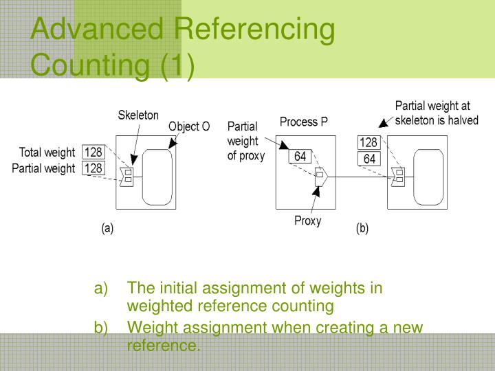 Advanced Referencing Counting (1)