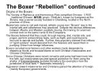 the boxer rebellion continued1