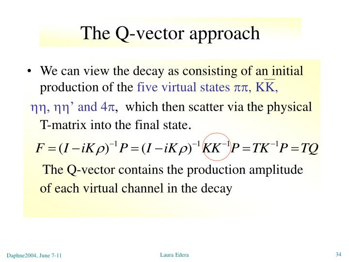 The Q-vector approach