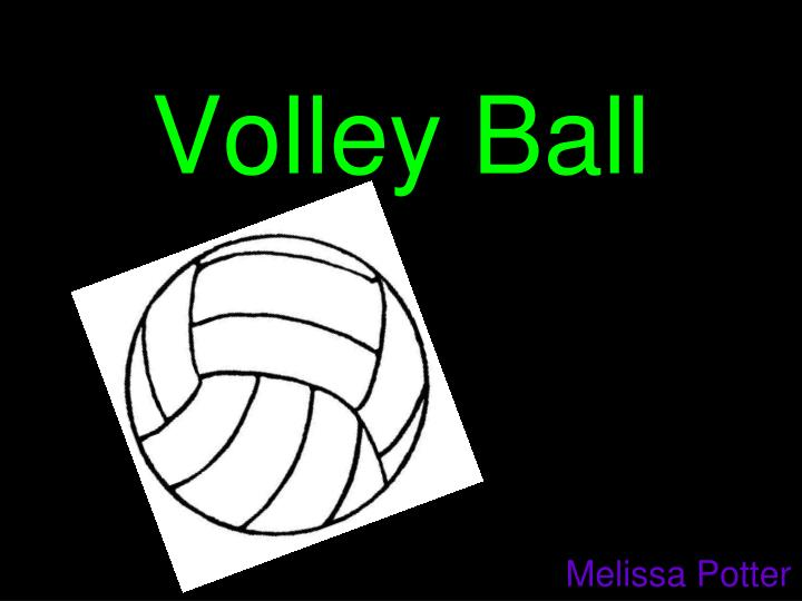 volley ball n.