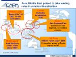 asia middle east poised to take leading roles in aviation liberalisation