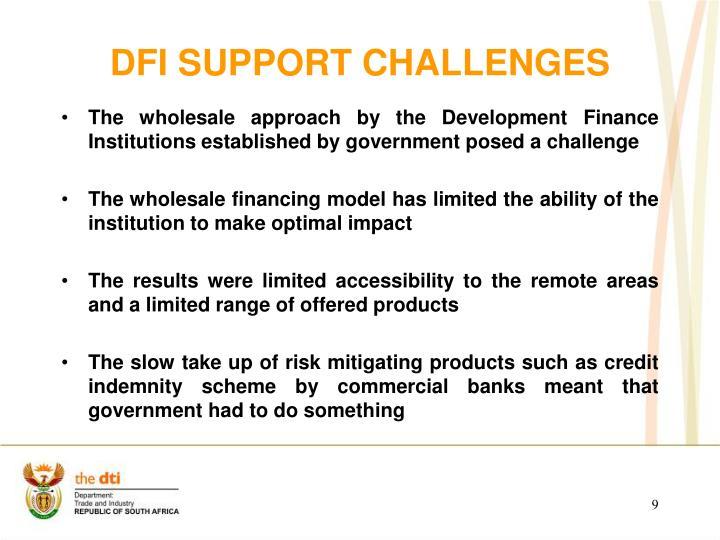 DFI SUPPORT