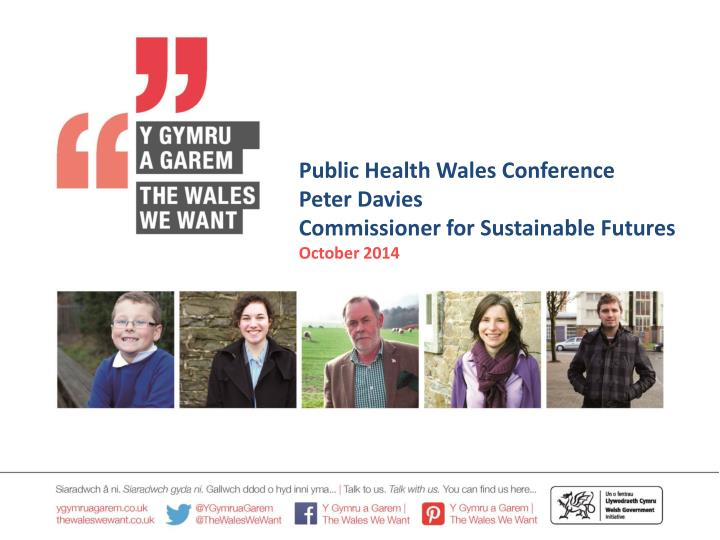 Public Health Wales Conference