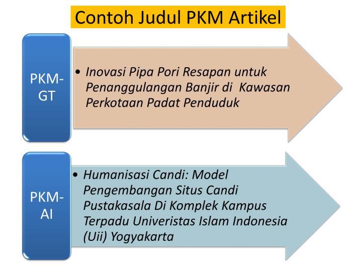 Ppt Program Kreativitas Mahasiswa Pkm 2014 Powerpoint Presentation