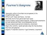 fournier s gangrene