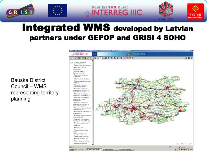 Integrated WMS