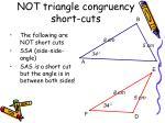 not triangle congruency short cuts1