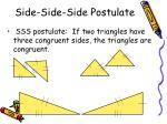 side side side postulate