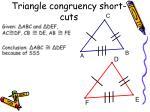 triangle congruency short cuts1