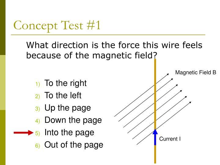 Magnetic Field B