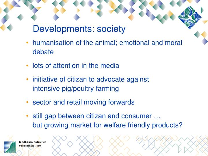 Developments society