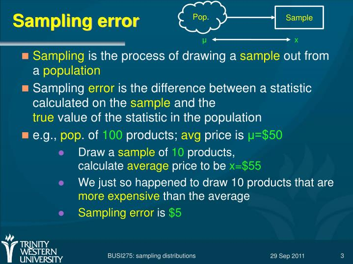 07 sampling 4th Depending on the number of sampling locations, random sampling can be deficient for detecting hot spots and for giving an overall picture of the spatial distribution of site contamination simple random sampling has quite a number of possible uses.