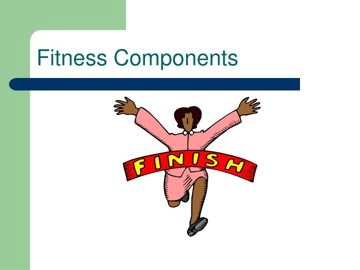 fitness components n.