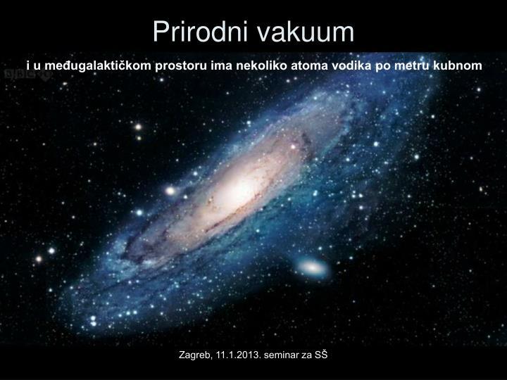 Prirodni vakuum