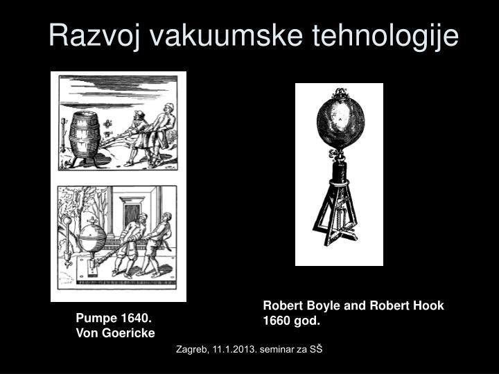 Razvoj vakuumske tehnologije