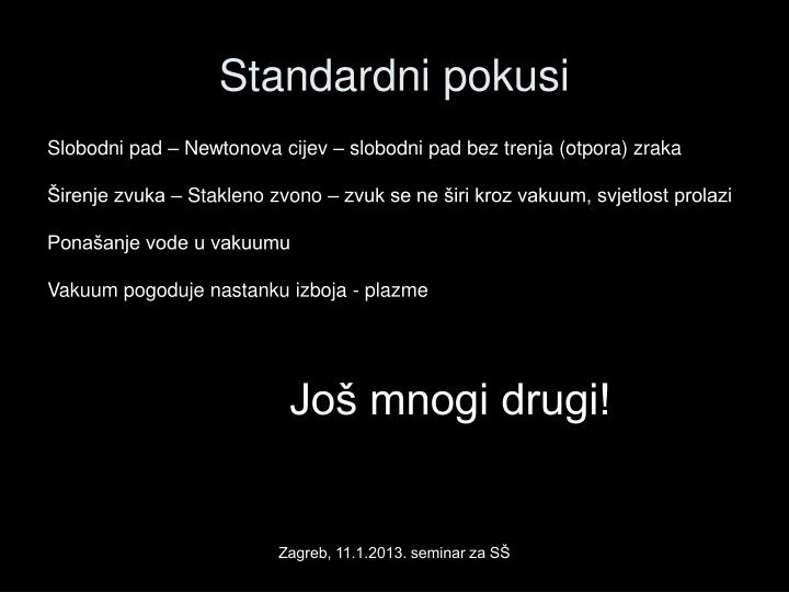 Standardni pokusi