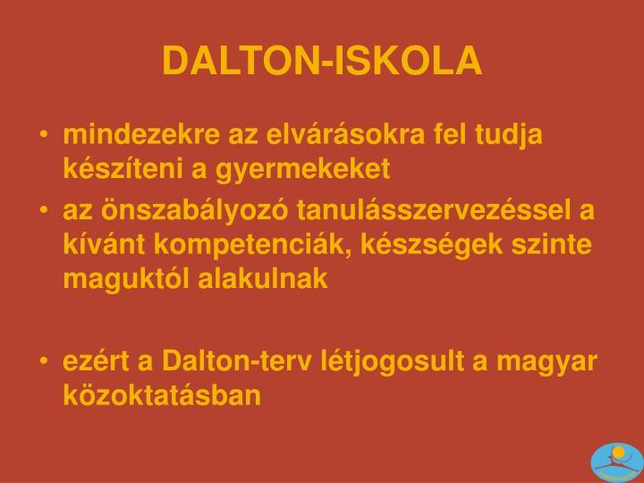 DALTON-ISKOLA