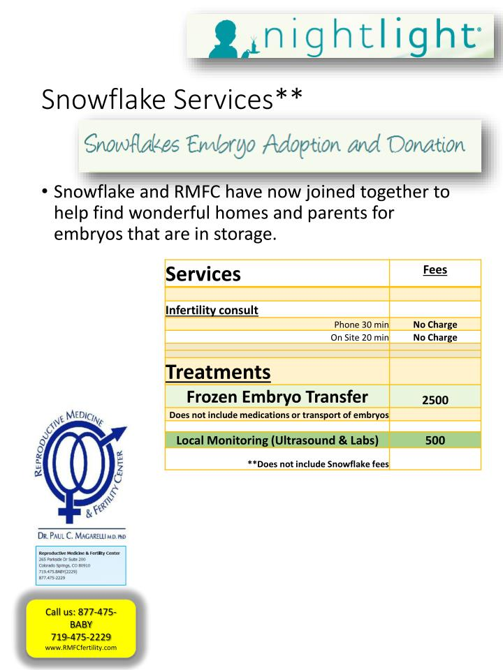 Snowflake Services**