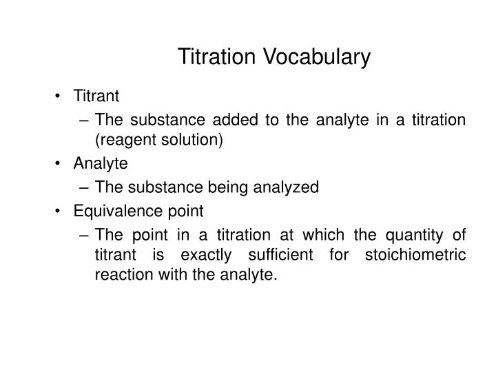 how to find molar mass through titration
