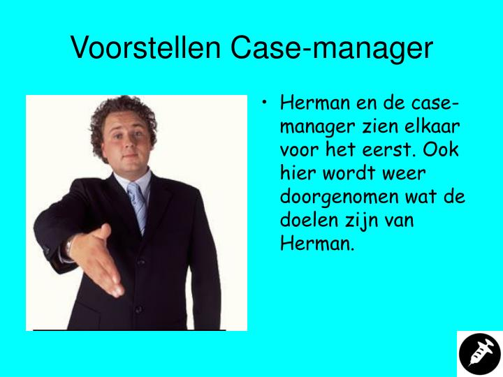 Voorstellen Case-manager