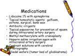 medications