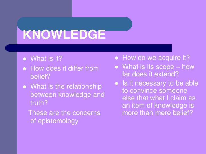 the relationship between knowledge telling and knowledge The distinction between personal knowledge and shared knowledge invites you to think about the difference between what 'i know' and what 'we know' if you begin to think of examples to complete the sentence 'i know' there's a mass of things you could think of.