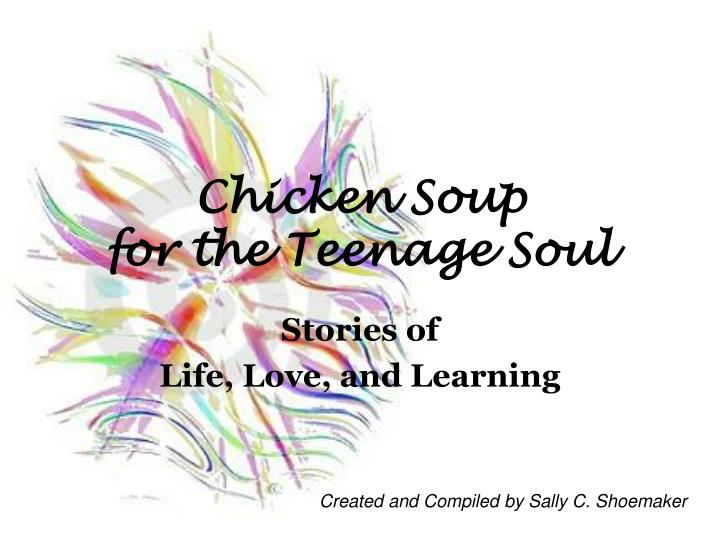 chicken soup for the teenage soul n.