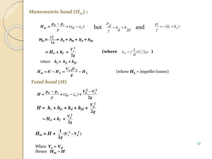 Manometric