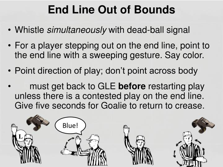 End Line Out of Bounds