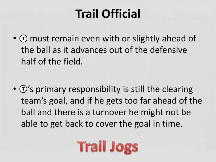 Trail Official