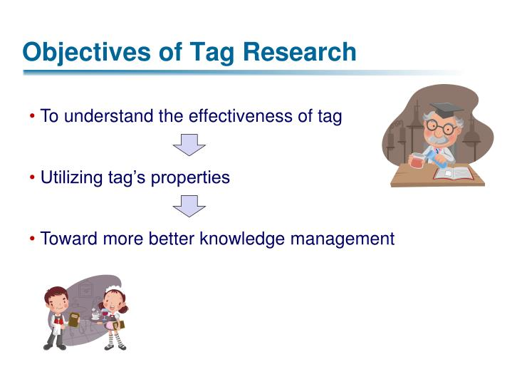 To understand the effectiveness of tag