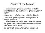 causes of the famine1