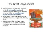 the great leap forward1