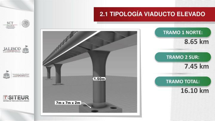 2.1 TIPOLOGÍA VIADUCTO ELEVADO