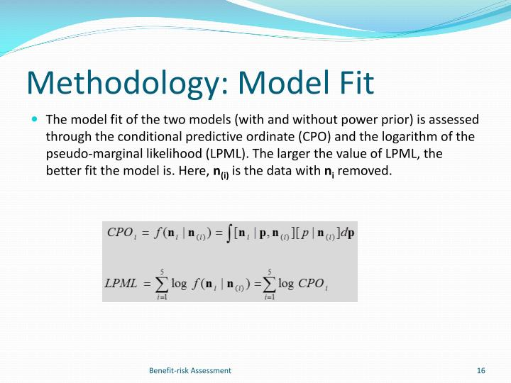 Methodology: Model Fit