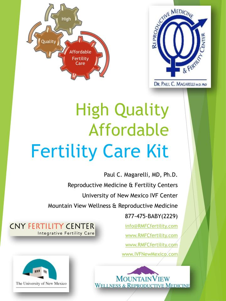 high quality affordable fertility care kit n.