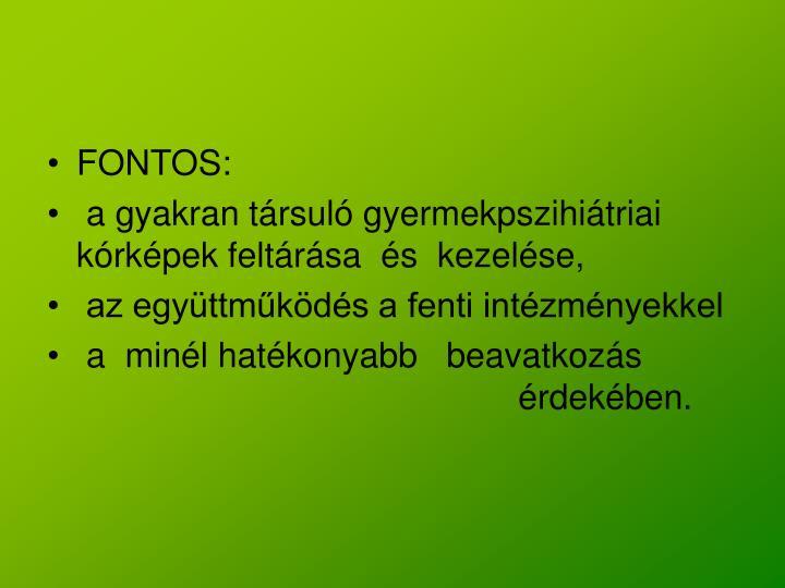 FONTOS: