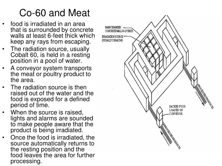 Co-60 and Meat