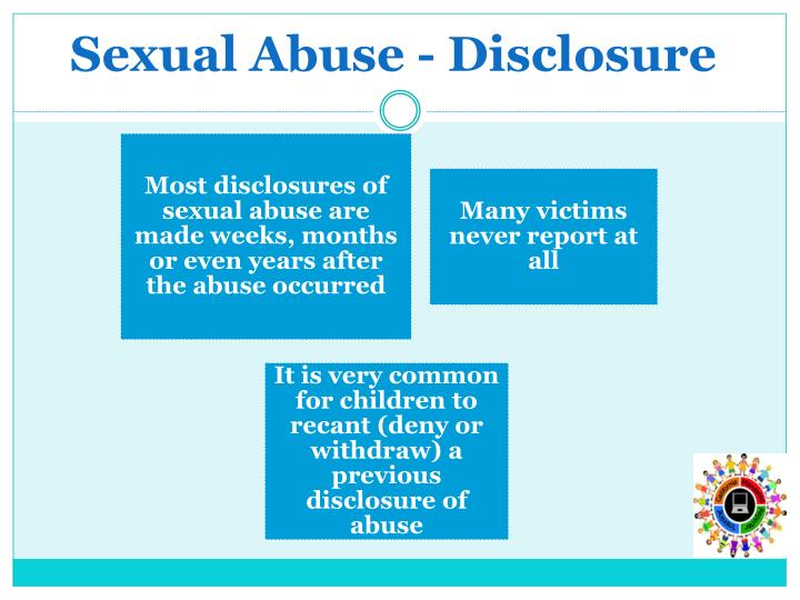 Sexual Abuse - Disclosure