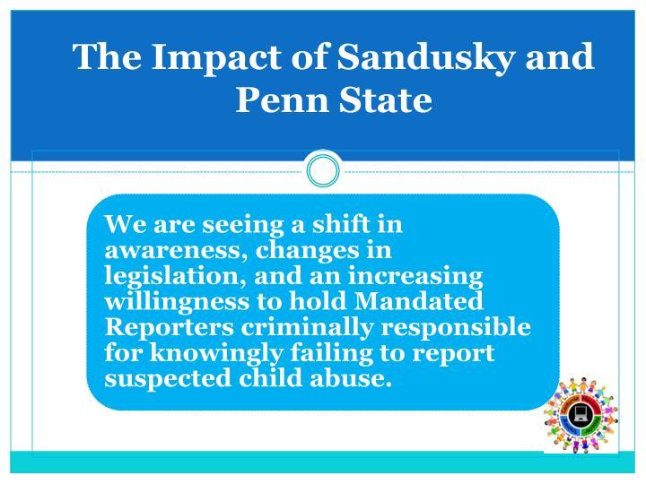The Impact of Sandusky and Penn State