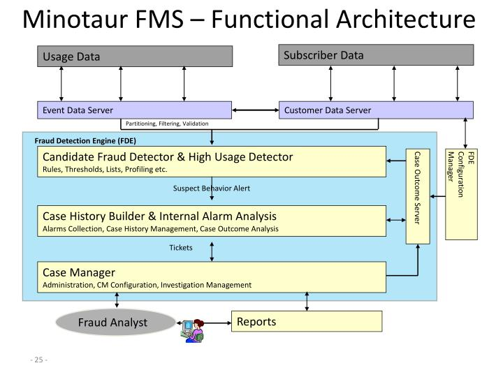 Minotaur FMS – Functional Architecture