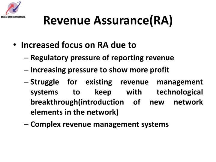 Revenue assurance ra