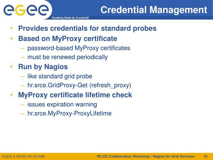 Credential Management