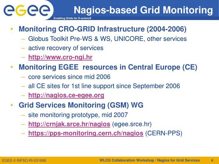 Nagios-based Grid Monitoring