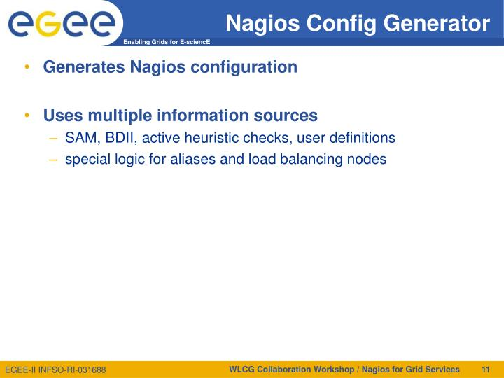Nagios Config Generator